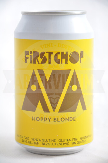 Birra First Chop Ava Hoppy Blonde lattina 33cl