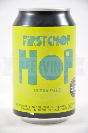 Birra First Chop Hop Ultra Pale lattina 33cl