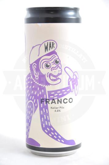 Birra War Franco lattina 33cl