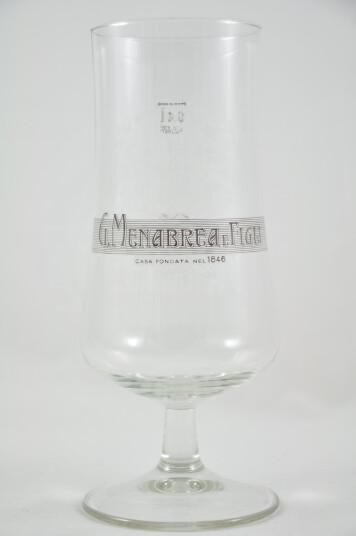 Bicchiere birra Menabrea vers.1 40cl