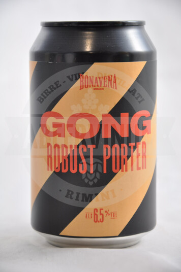 Birra Bonavena Gong lattina 33cl