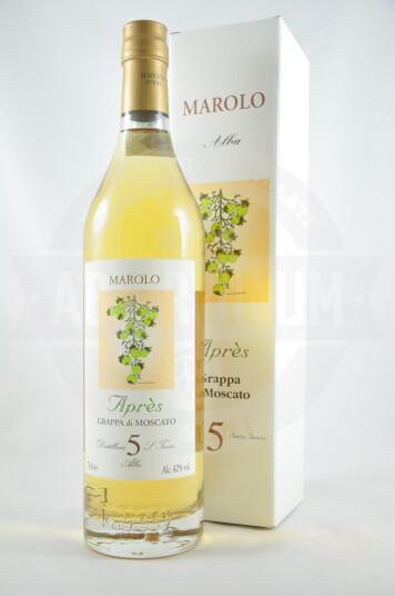 """Grappa di Moscato """"Après"""" 70cl - Marolo"""