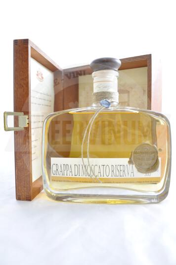 Grappa Moscato Riserva 70cl - Antica Distilleria Quaglia