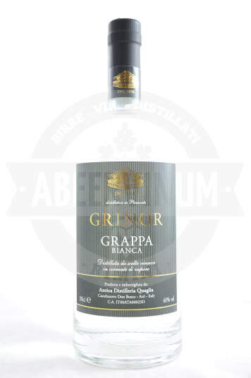Grappa Bianca Grinor 100cl - Antica Distilleria Quaglia
