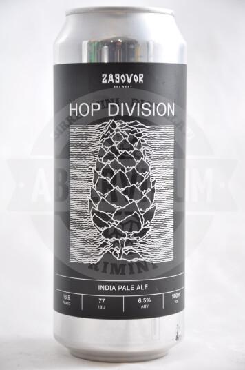 Birra Zagovor Hop Division lattina 50cl