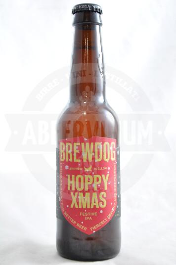 Birra Brewdog Hoppy Christmas bottiglia 33cl