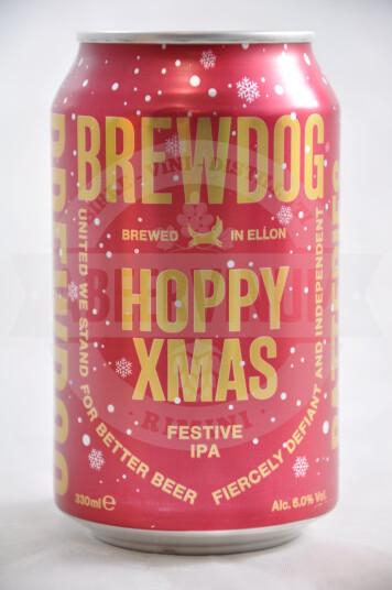 Birra Brewdog Hoppy Christmas lattina 33cl