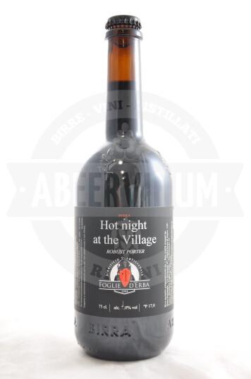 Birra Foglie d'Erba Hot Night al the Village bottiglia 75cl