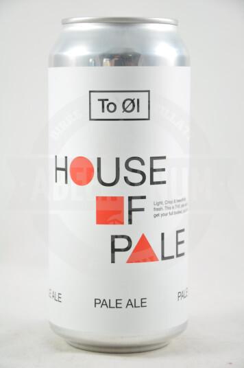 Birra House of Pale lattina 44cl