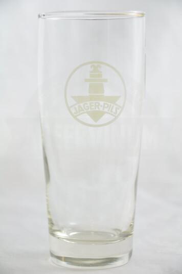 Bicchiere Birra Jager Pils 25cl