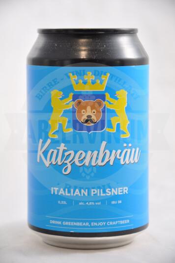 Birra Orso Verde Katzenbrau lattina 33cl