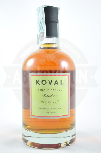 Whiskey Koval Single Barrel Bourbon 50cl
