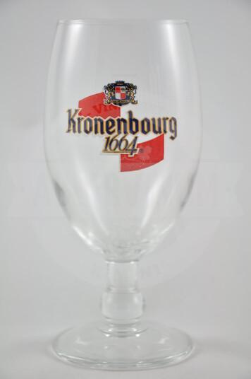 Bicchiere Birra Kronenbourg 1664