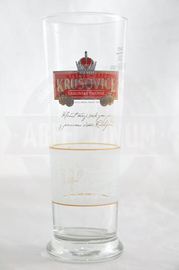 Bicchiere Birra Krusovice 30cl