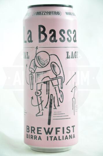 Birra Brewfist La Bassa lattina 50cl