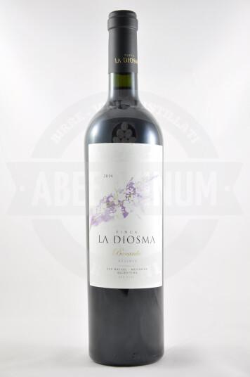 Vino Argentino Bonarda Reserva 2014 - La Diosma