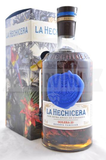 Rum La Hechicera Solera 21 Reserva Familiar  - La Hechicera
