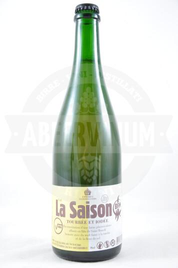 Birra La Saison 484 Tourbée Et Iodée 2019 75cl