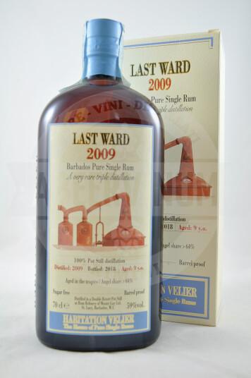 Rum Barbados Pure Single Rum Last Ward 2009 - Monymusk Distillery, Habitation Velier