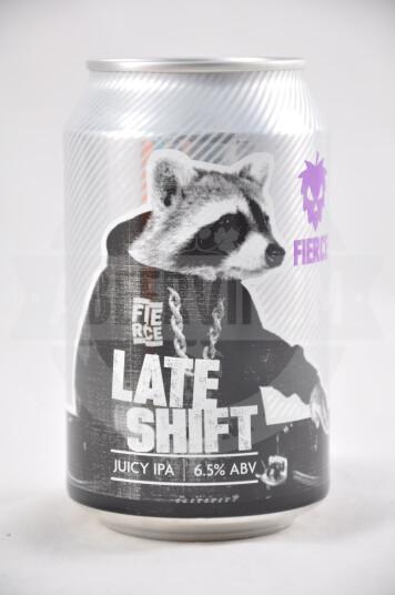 Birra Late Shift lattina 33cl