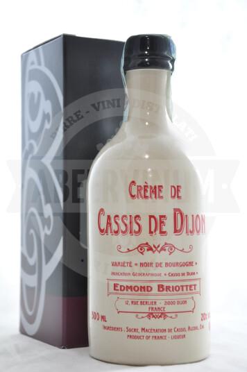 Liquore Creme de Cassis De Dijon In Ceramica con Astuccio 50cl - Briottet