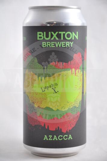 Birra Buxton Lupulus X Azacca lattina 44cl