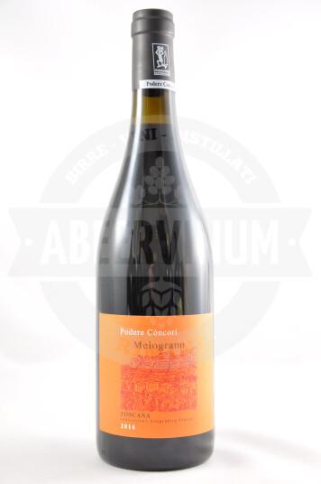 Vino Melograno Toscana IGT 2016 - Podere Còncori