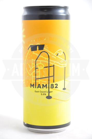 Birra War Miami 82 lattina 33cl