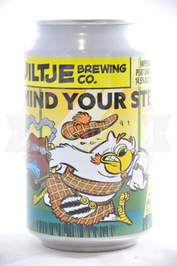 Birra Uiltje Mind Your Step! (Peat Smoke Edition) lattina 33cl
