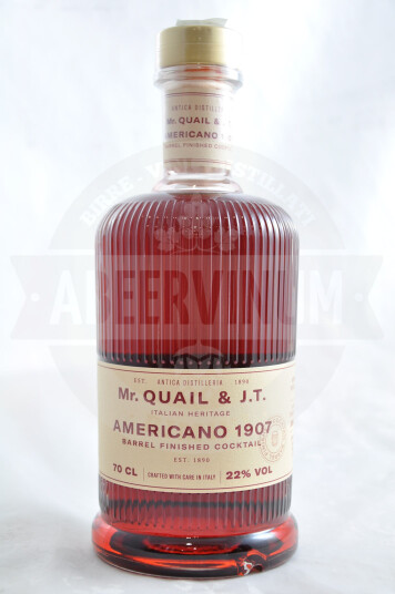 Liquore Drink Americano 1907 70cl - Antica Distilleria Quaglia