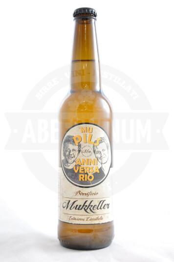 Birra Mukkeller Mu Pils Decimo Anniversario 50cl