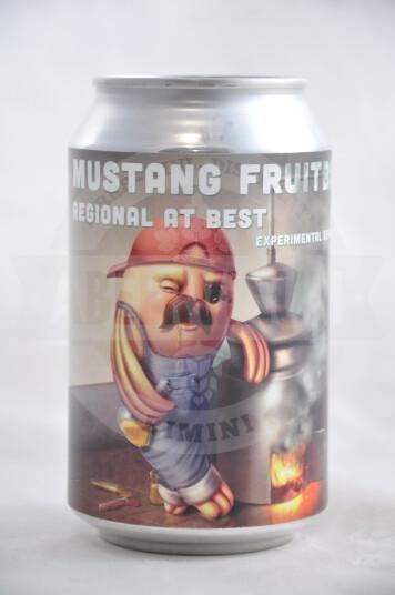 Birra Lobik Mustang Fruitbowl lattina 33cl