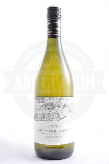 Vino Chardonnay Vite Natural Durante Terre del Colleoni DOC 2018 - Tosca