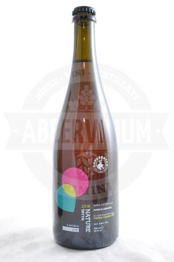 Birra Opperbacco Nature Cantina Caprera 2018 bottiglia 75cl