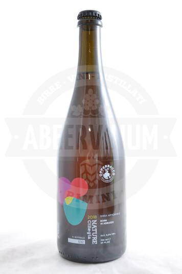 Birra Opperbacco Nature Ciliegia 2018 bottiglia 75cl