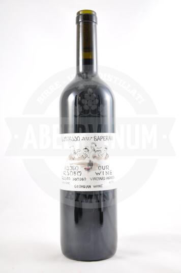 Vino Georgiano Saperavi 2017 - Our Wine