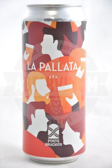 Birra Porta Bruciata La Pallata lattina 40cl
