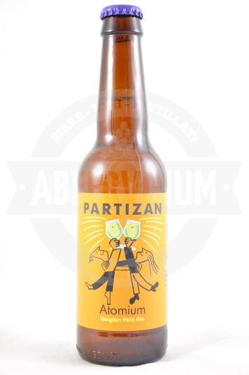 Birra Atomium Belgian Pale Ale Cascade&Mosaic 33cl