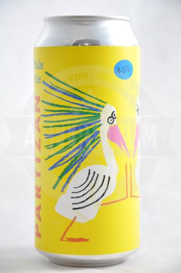 Birra Partizan Pale Ale Mosaic Ekuanot lattina 44cl