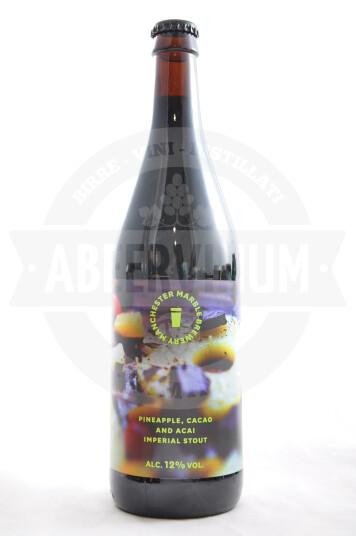 Birra Marble Pineapple, Cacao & Acai bottiglia 66cl