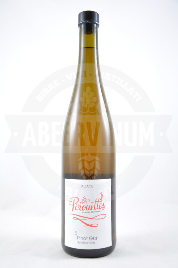 Vino Francese Alsace Le Pinot Gris De Stéphane 2014 - Les Vins Pirouettes Par Binner & Compagnie