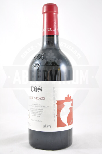 Vino Pithos Rosso Terre Siciliane IGP 2015 - COS