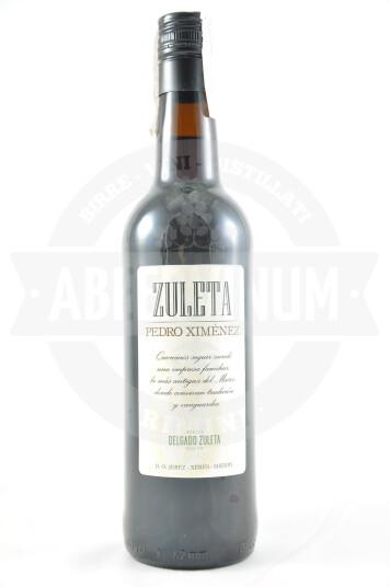 Vino Liquoroso Sherry Pedro Ximénez - Delgado Zuleta