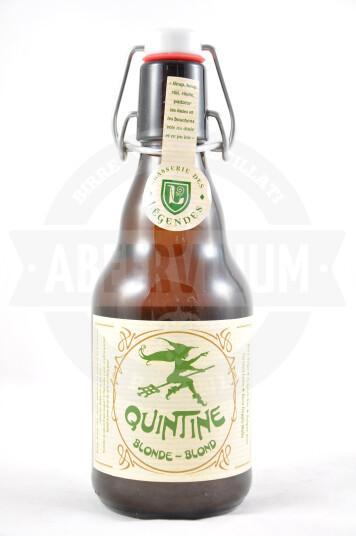 Birra Quintine Blonde 33 cl
