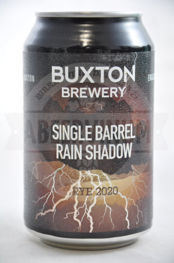 Birra Buxton Single Barrel Rain Shadow Rye 2020 lattina 33cl