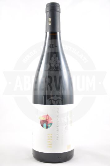 Vino Spagnolo Raposo Villabuena de Alava Rioja DOC 2016 - Sierra de Toloño