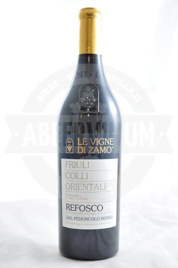 Vino Refosco dal Peduncolo Rosso Friuli Colli Orientali DOC 2016 - Le Vigne di Zamò