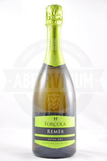 Vino Spumante Extra Dry Remèr Forcola - Cantina La Salute