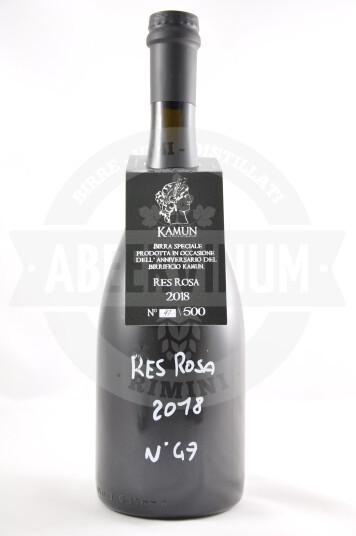 Birra Res Rosa 2018 75cl