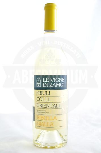 Vino Friuli Colli Orientali Ribolla Gialla DOC 2019 - Le Vigne di Zamò